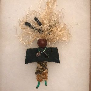Jewelry - Free Spirit Pin made from recycled materials